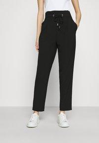 ONLY - ONLHERO LIFE STRING PANT - Trousers - black - 0
