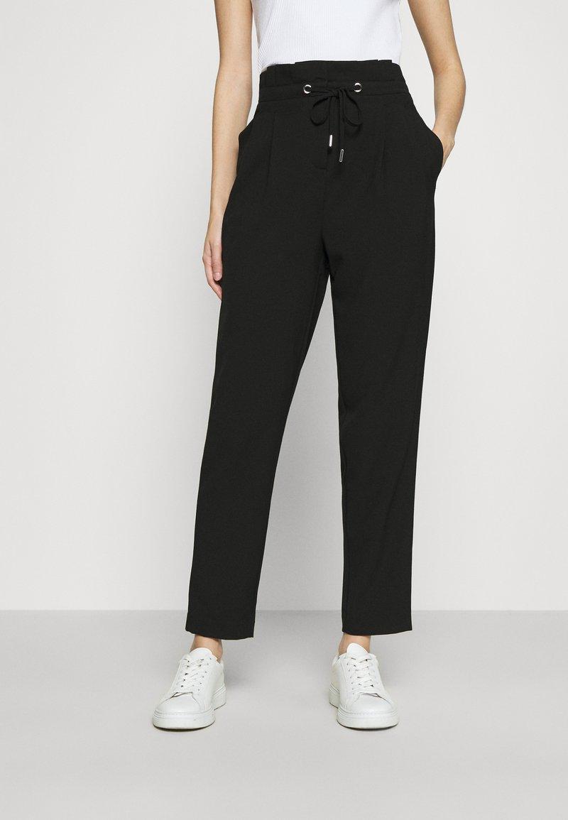 ONLY - ONLHERO LIFE STRING PANT - Trousers - black
