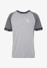TWO TONE TEE - T-shirt con stampa - grey