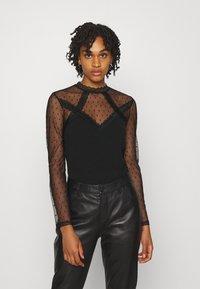 Morgan - TAPLU - Camiseta de manga larga - noir - 0