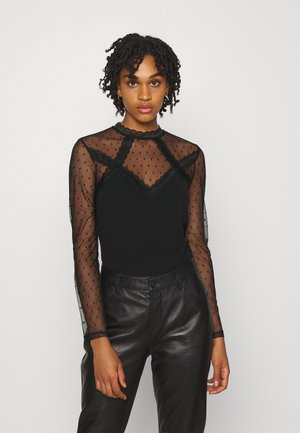 TAPLU - Long sleeved top - noir