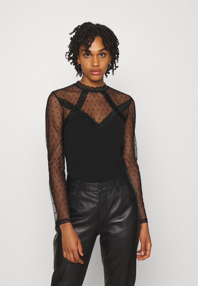 Morgan - TAPLU - Camiseta de manga larga - noir