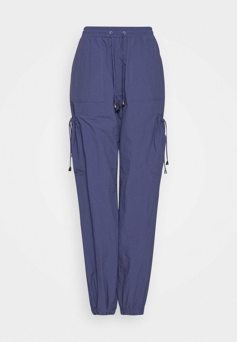 Missguided Tall - POCKET DETAIL TROUSERS - Pantaloni - blue