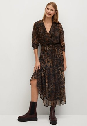 CONGO - Denní šaty - braun