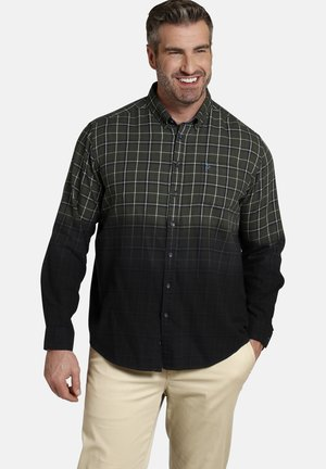 Shirt - oliv kariert