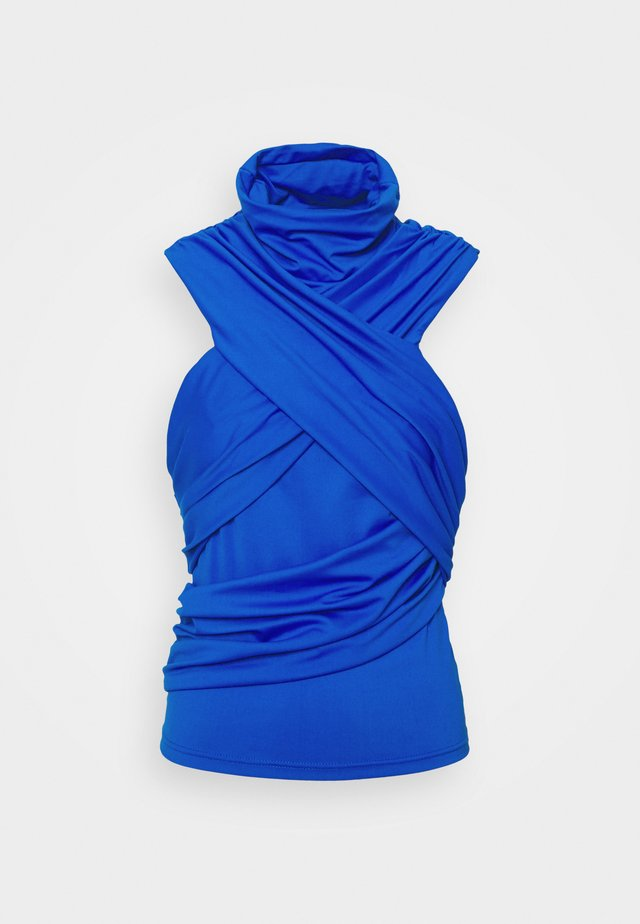 DRAPE - Top - blue