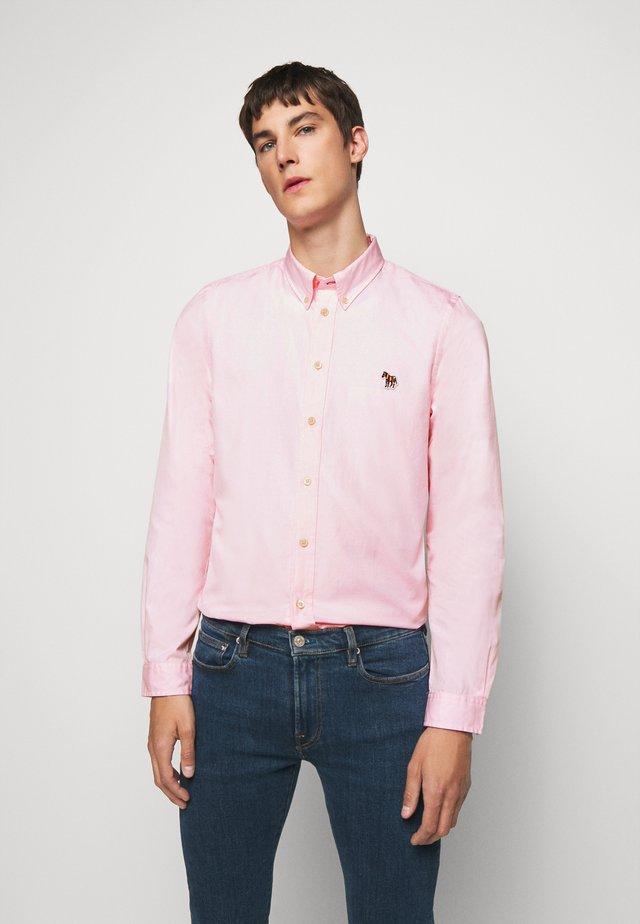 MENS TAILORED SHIRT - Camisa - beige