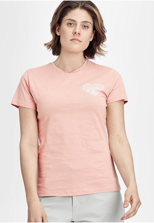 SEILE - Print T-shirt - evening sand