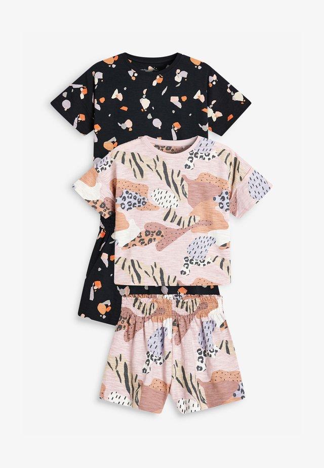 2 PACK - Pyjamaser - multi-coloured
