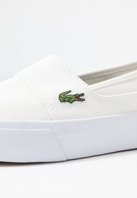 Lacoste - MARICE PLUS GRAND  - Slippers - white/navy - 2