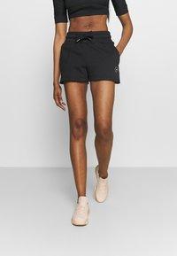 adidas by Stella McCartney - SWEAT SHORT - Sportovní kraťasy - black - 0