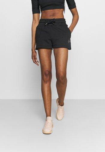 SWEAT SHORT - Pantalón corto de deporte - black