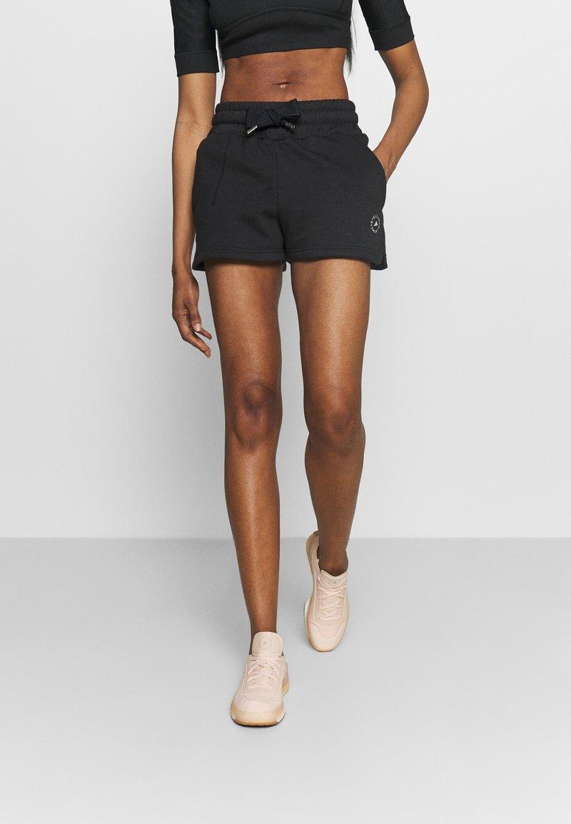 adidas by Stella McCartney - SWEAT SHORT - Sportovní kraťasy - black