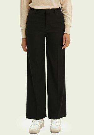 EDIE TAILORED - Trousers - black