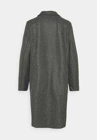 Vero Moda - VMFORTUNEADDIE JACKET - Classic coat - dark grey melange - 1