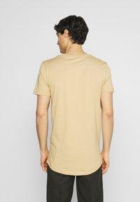 TOM TAILOR DENIM - Print T-shirt - lark beige - 2