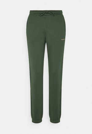 GABBY TROUSER - Tracksuit bottoms - dark green