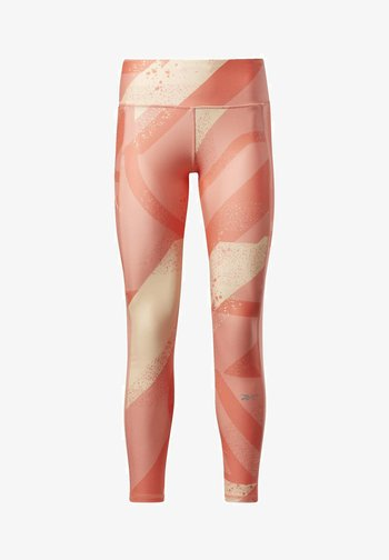 RUN ESSENTIALS ALLOVER PRINT LEGGINGS