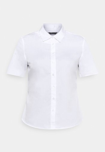 FITTED SHIRT - Button-down blouse - white