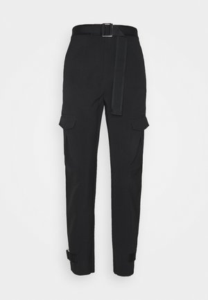 SKUNK TROUSER - Cargo trousers - black