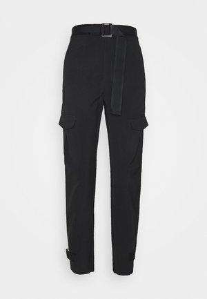 SKUNK TROUSER - Pantalon cargo - black