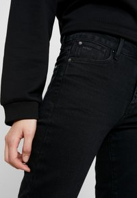 G-Star - NAVIK HIGH SLIM ANKLE POP - Slim fit jeans - jet black - 3