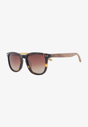 Sunglasses - schwarz-braun   box