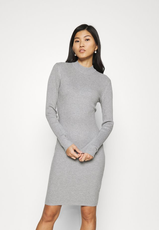Jumper dress - dark grey mélange