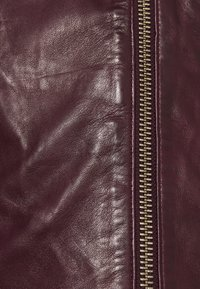 NAF NAF - CAREN - Leather jacket - berry - 2