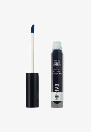 MATTE LIQUID LIPSTICK - Flüssiger Lippenstift - blueberry