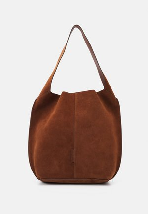 GAIA - Handbag - maroon brown