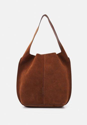 GAIA - Håndtasker - maroon brown