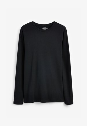 THERMAL - Long sleeved top - black