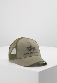 Alpha Industries - BASIC TRUCKER UNISEX - Gorra - dark green - 0