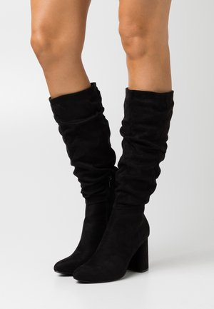ONLBRODIE LIFE BOOT - High heeled boots - black