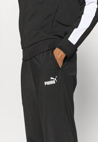 Puma - BASEBALL TRICOT SUIT SET - Chándal - puma black - 7