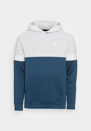 DYNAMIC FUNCTION OVERHEAD HOODIE - Sportinis megztinis - snow marl/navy