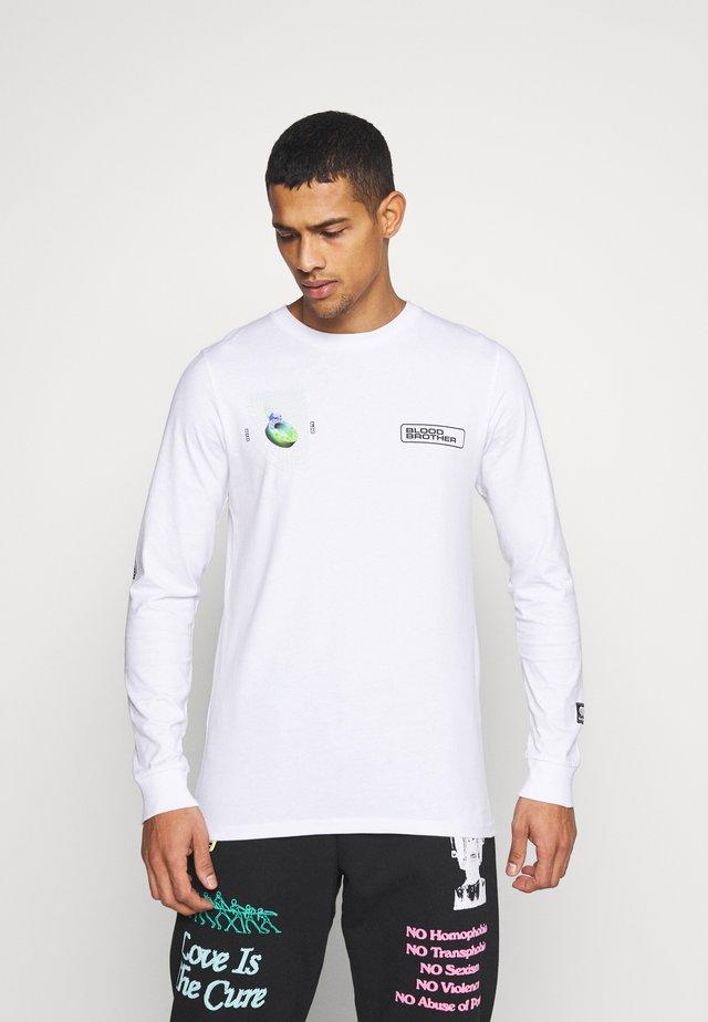 ALDGATE TEE - Camiseta de manga larga - white