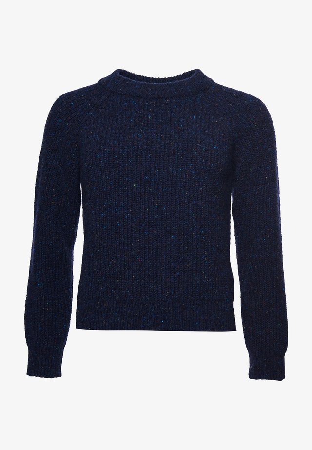 FREYA TWEED - Sweter - boston navy tweed