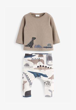 SET - Leggings - Trousers - multi-coloured