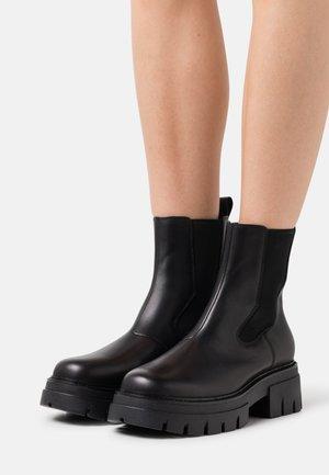 LENNY - Platform ankle boots - black