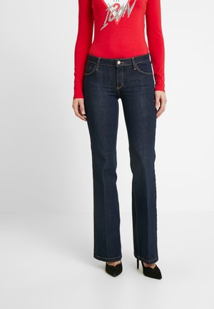 SEXY BOOT - Jeansy Bootcut - blue-back denim