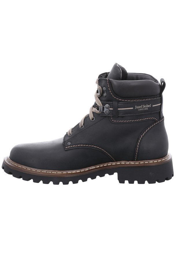 ADELBODEN - Lace-up ankle boots - schwarz