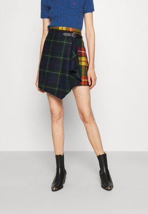 Mini skirt - tartan/goron plaid