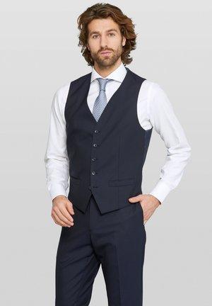 Evion Split - Suit waistcoat - navy
