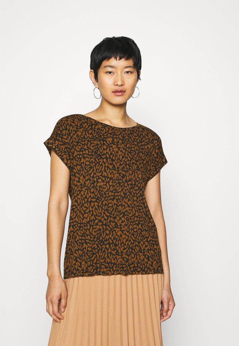 Soyaconcept - SC-KRISTA 2 - Print T-shirt - brown