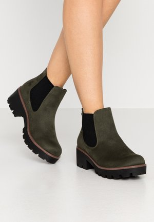 Ankle boots - tanne