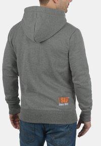 Solid - BENN  - Zip-up hoodie - grey melange - 1