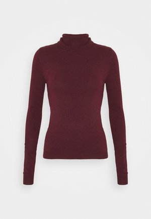VMHAPPY BASIC ROLLNECK BLOU - Svetr - port royale