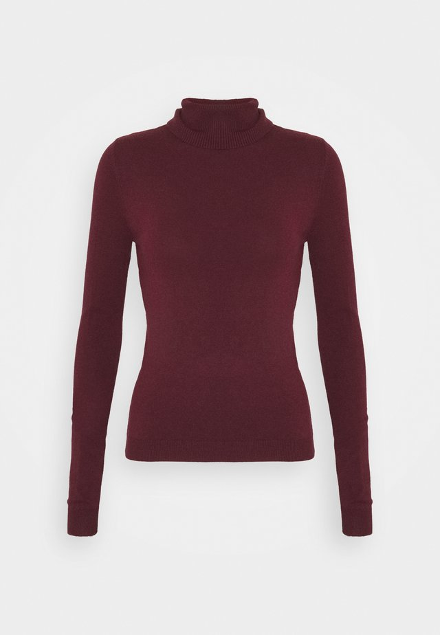 VMHAPPY BASIC ROLLNECK BLOU - Jumper - port royale